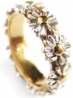 In The Latest Gold Ring Designs Meadow Gold Ring