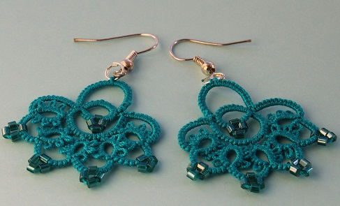 Frivolite Handmade Earrings3