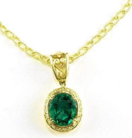 gemstone-pendant