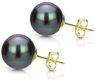 gold-black-perfect-round-akoya-pearl-stud-earrings-6