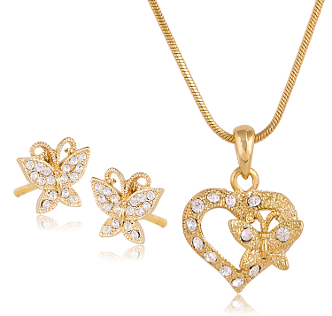 product chains locket gold n chain set pk jewelry