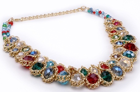 golden-chain-knotted-with-colourful-beads13
