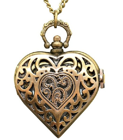 heart-locket-with-a-clock-watch