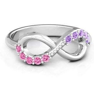 infinity-birthstone-rings