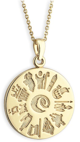 irish-gold-pendant