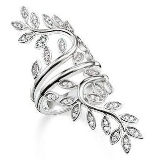 leaf-spreading-silver-ring
