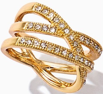 New Gold Ring In Multi-Tier