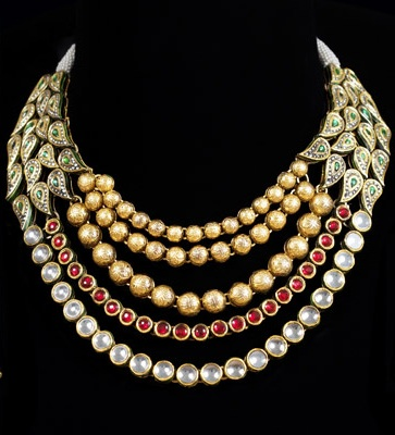 multilayers-designer-gold-kundan-and-ruby-necklace