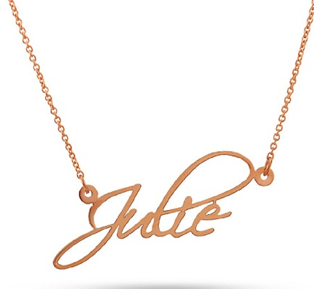 16 Beautiful Name Locket Designs For Men And Women | Styles At Life
