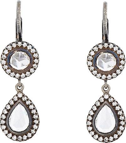 oxidized-double-drop-earrings