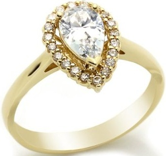 Simple Gold Ring Design With Diamonds