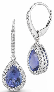 pear-shape-tanzanite-diamond-earring