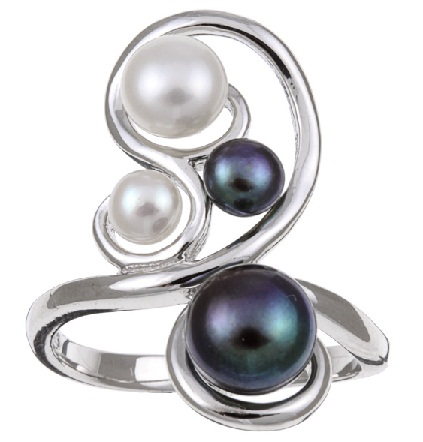 pearl-cluster-silver-ring