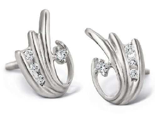 platinum-earrings-with-channel-set-diamonds