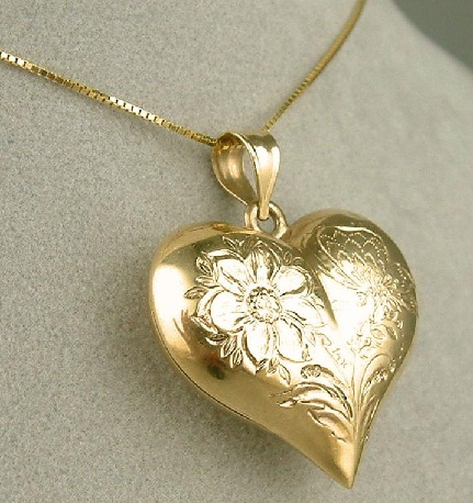 9 different types of heart pendants with pictures puffy heart pendant aloadofball Images