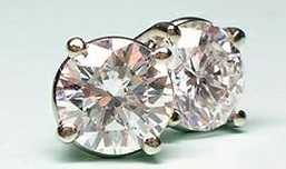 round-cut-diamond-earrings