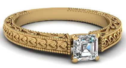 row-beaded-solitaire-ring