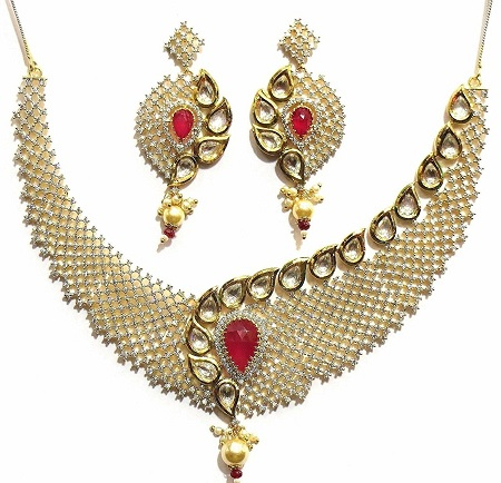 ruby-kundan-diamond-fusion-necklaces