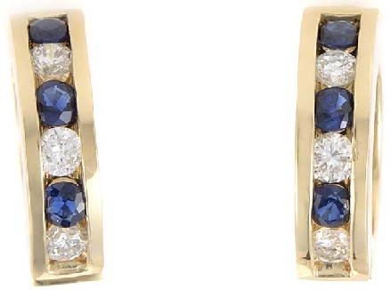 sapphire-and-diamond-hoop-earrings