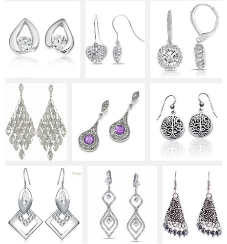 silver-earrings-designs