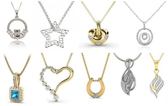 9 simple pendant necklace designs in india styles at life aloadofball Images