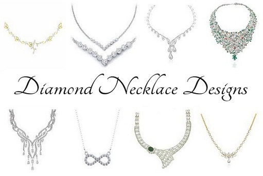 25 Simple And Beautiful Diamond Necklace Designs