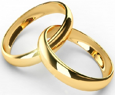 Simple Plain Gold Wedding Rings1