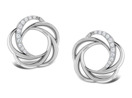 sparkling-whorl-platinum-earrings