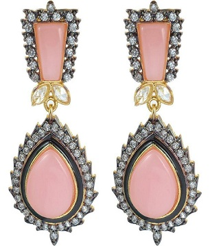 stones-and-american-diamond-earrings