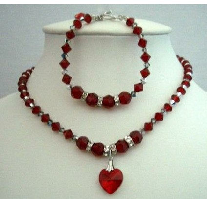 swarovski-red-crystal-heart-handmade-necklace2