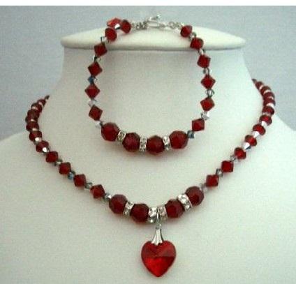 swarovski-red-crystal-heart-handmade-necklace2