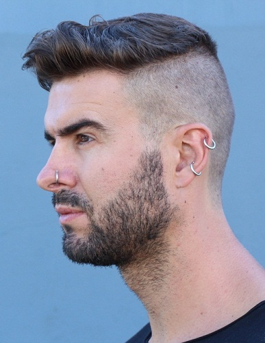 Ear Piercing For Men
