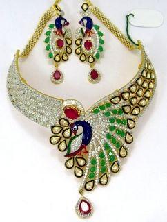 traditional-peacock-style-kundan-american-diamond-set