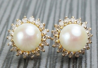 vintage-pearl-and-diamond-drop-earring