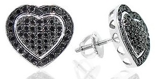 black-diamond-heart-earrings