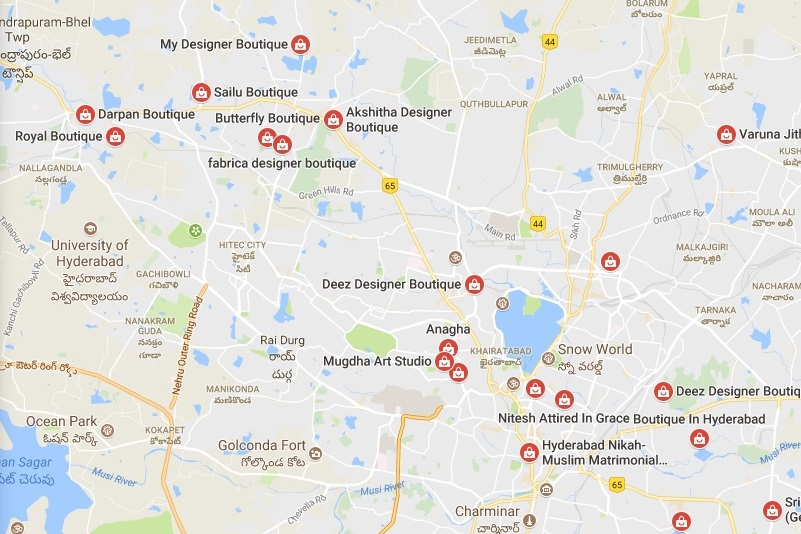 boutiques in hyderabad