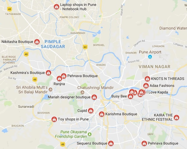 boutiques in pune