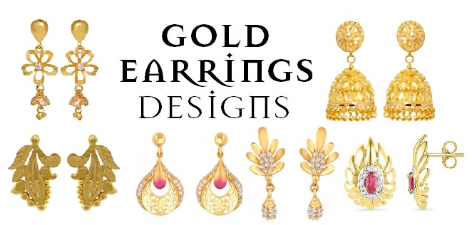 25 Most Attractive and Simple Gold Earring Designs