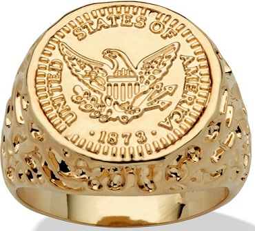 14k-gold-plated-american-eagle-coin-replica-nugget-style-ring9