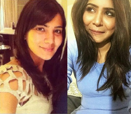 Samantha Ruth Prabhu Without Makeup