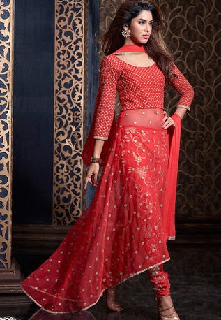 a-red-net-wedding-churidaar-suit14