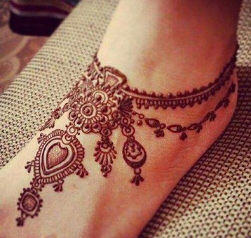 15 Leg Mehndi Designs That Are Simple And Attractive Styles At Life