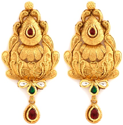 Antique Gold Earrings5