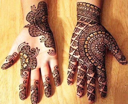 Attractive Indian Mehndi Design
