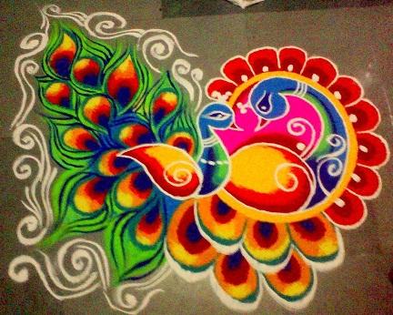 awesome-peacock-pond-colorful-rangoli14