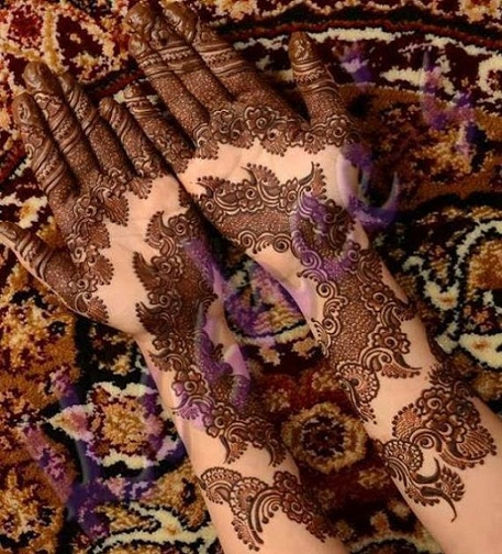 25 Best Pakistani Mehndi Designs With Images | Styles At Life