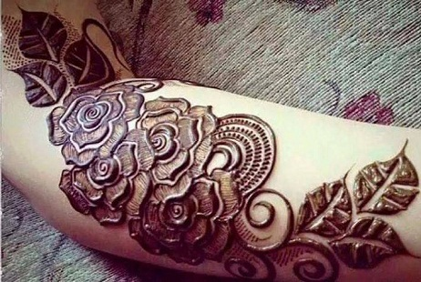 Mehndi Designs Rose : 15 unexcelled mehndi designs for girls with images styles at life