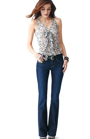 Ladies Jeans Bootcut Style
