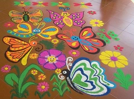 butterfly-rangoli69