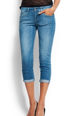 Capri Jeans For Ladies